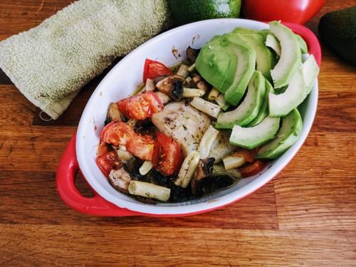 Ryba po portugalsku z warzywami