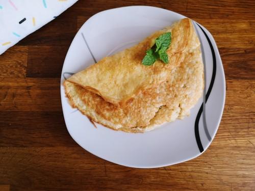 Kokosowy omlet